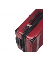 "Oxford Collection 28"" Expandable Upright Luggage – Burgundy - Image 4"