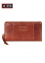 Ladies' RFID Secure Zippered Clutch Wallet - Image 1