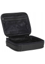 Large Zippered Toiletry Bag - BLACK - Image 4