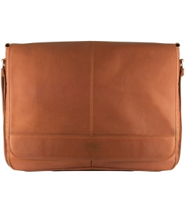 Leather Messenger Bag for Laptops & Tablets