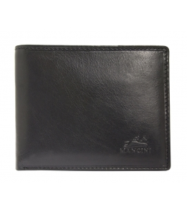 Men's RFID Secure Wallet with Removable Passcase and Coin Pocket - Black