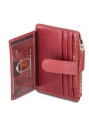 Men`s RFID Secure Card Case and Coin Pocket - Red - Image 4
