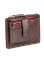 RFID Secure Card Case and Coin Pocket - Brown - Image 2