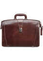 Laptop Compatible Litigator Briefcase with RFID Secure Pocket - Brown - Image 1