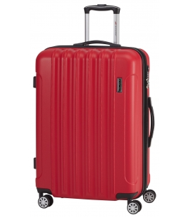 25'' Lightweight Carry-on Spinner Luggage - Red