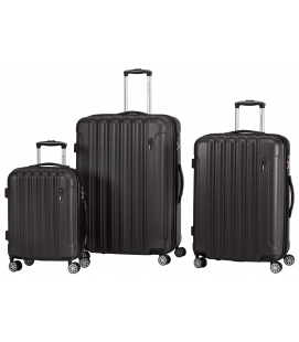 Lightweight Spinner Luggage Set - Grey