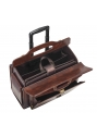 Deluxe Wheeled Catalog Case - Brown - Image 4